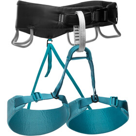 Black Diamond Momentum Harness Women aqua verde